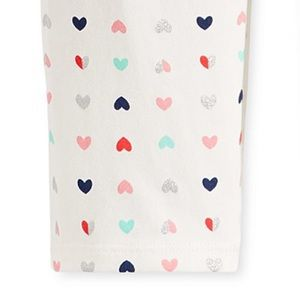 First Impressions Bottoms - NWT First Impressions Hearts Print Leggings 18mo
